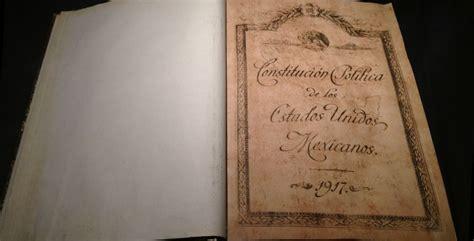 1917 constituci n pol tica de los estados unidos mexicanos 5 datos que no conoc 237 as de la constituci 243 n de 1917