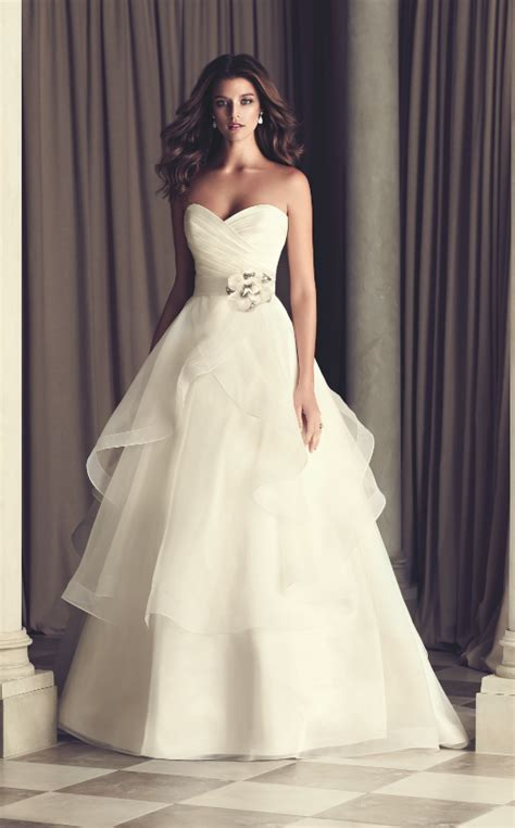 A Line Wedding Dresses by Get Intrigued With A Line Wedding Dresses Ohh My My