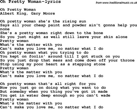 Pretty Woman Guitar Chords