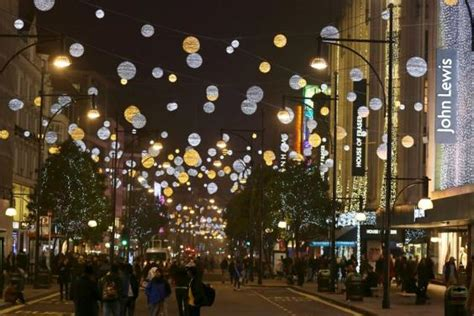 oxford st s christmas light switch on set for nov 6th
