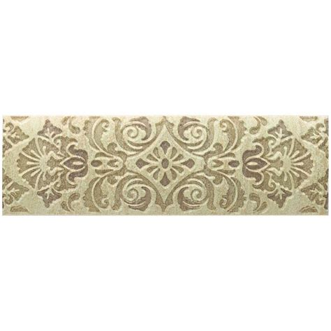 daltile fashion accents tapestry 3 in x 9 in decorative