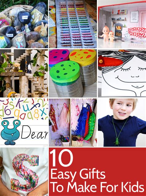 easy homemade christmas gifts for kids to make