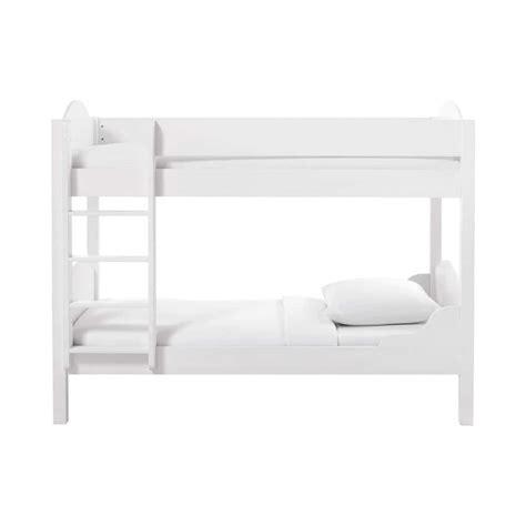 letti a legno bianco letto a bianco in legno 90 x 190 cm pastel