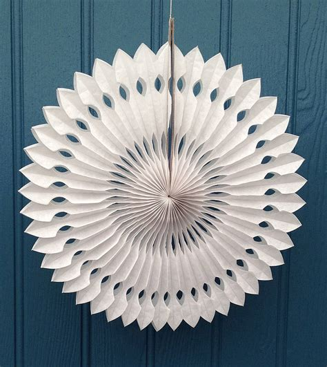 Paper Snowflake Decorations by Snowflake Paper Decoration Arrow Design By Boase Ltd Notonthehighstreet