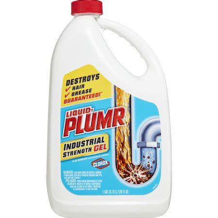 Liquid Plumr Industrial Strength Drain Cleaning Gel, 128 oz   Walmart.com