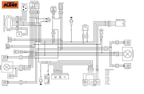 schaltplan wiring diagram cd i ktm 250 xc f user manual page 64 68 manual taller ktm exc 125 200 99 00 01 02 03 ktm 2y4t