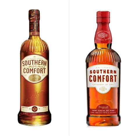 with comfort brand new new logo and packaging for southern comfort by