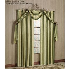 Swag Curtain 5737 by Vogue Pattern Curtains Valance Swag Jabot Pillows And