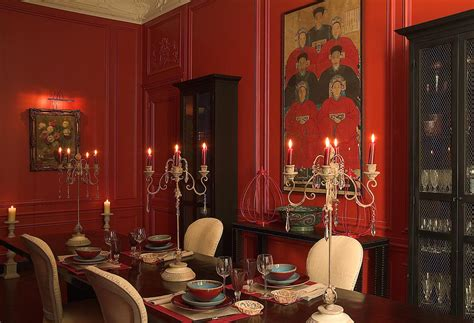 Red Dining Rooms | the style abettor red dining rooms