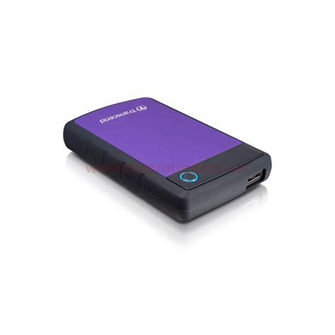 Transcend Storejet 25h3 2tb Usb 3 0 Antishock transcend storejet 25h3 2tb portable hdd ts2tsj25h3p usb 3 0 purple portable hdds and ssds