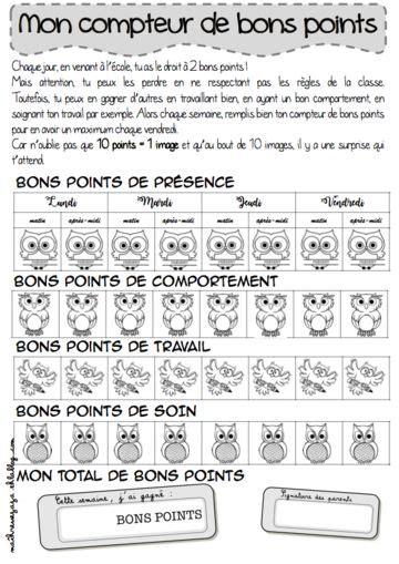 8 Points About Parenthood by Les 68 Meilleures Images Du Tableau Bons Points Sur