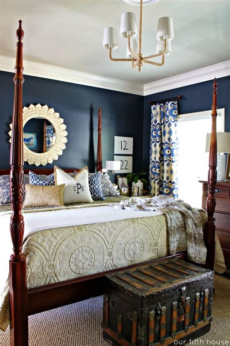 25 best ideas about navy master bedroom on pinterest new 50 blue bedroom wall ideas decorating design of top