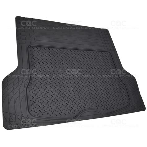 Non Toxic Mats by 4pc Rubber Floor Mats Set In Black Non Toxic Superior