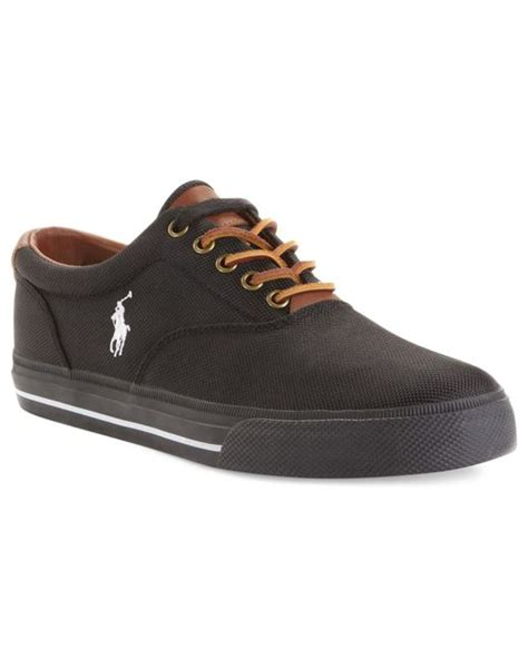 polo ralph vaughn sneakers polo ralph vaughn sneakers in black for