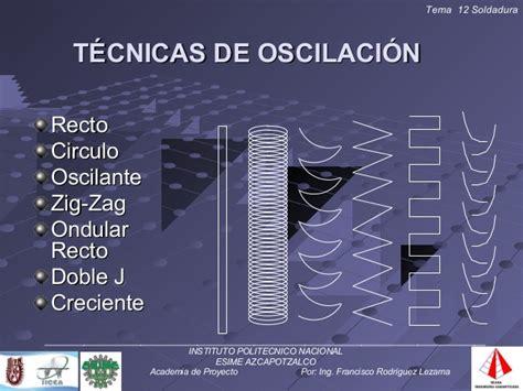 oscilacion soldadura tema 12 soldadura
