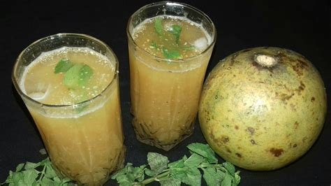 bel ka sharbat wood apple squash bel ka sharbat bel juice recipe wood apple squash