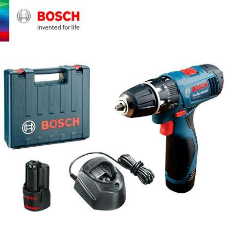 Bosch Gsb 120 Li Cordless Impact Drill Bor Alat Tukang Pertukangan bosch gsb 120 li cordless impact drill 1 5ah