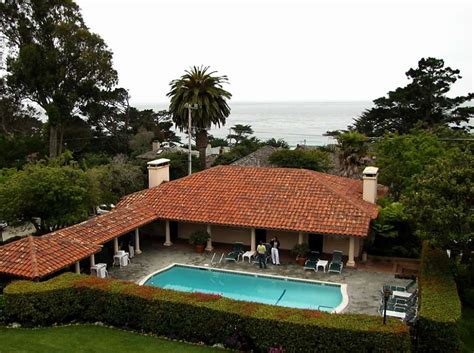 la playa hotel and cottages by the sea carmel bay sfgate