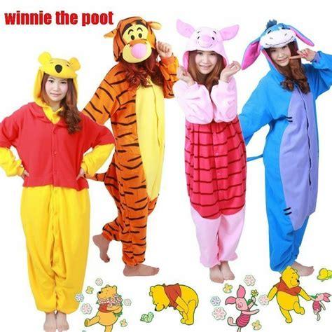 Piyama Winnie The Pooh Friends new costume kigurumi pajamas onesie pyjamas