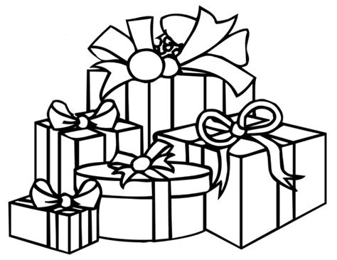 animations a 2 z coloring pages of birthday gifts