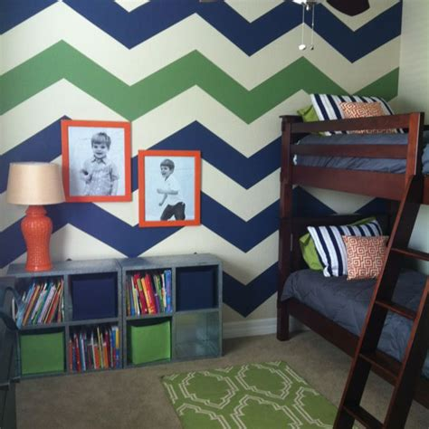 Kinderzimmer Junge Baby 3617 the chevron wall inspiration