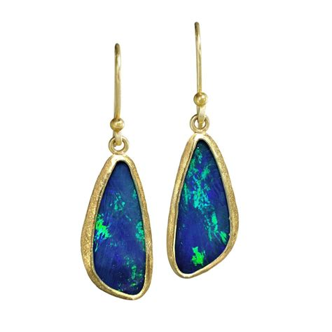 green opal 100 green opal earrings green opal earrings 14k