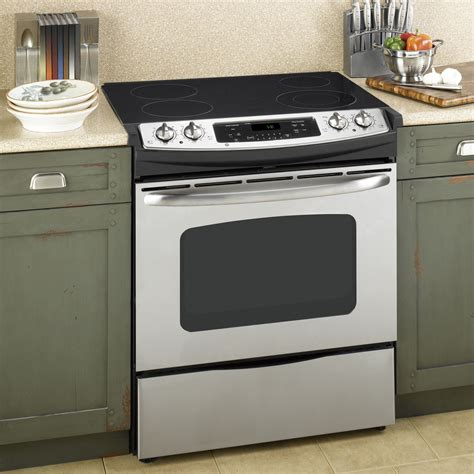 slide in range kenmore 46783 30 quot self clean slide in electric range w ceramic smoothtop cooktop