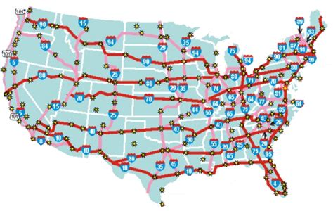 map of the united states highway system may 2013 politicalgates