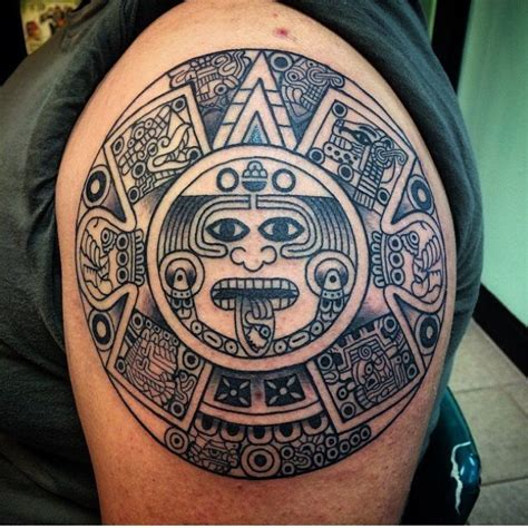 mayan calendar tattoo designs 105 symbolic mayan ideas fusing ancient with