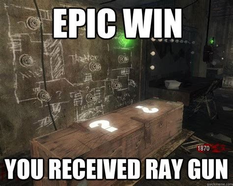 Epic Win Meme - epic win you received ray gun scumbag mystery box