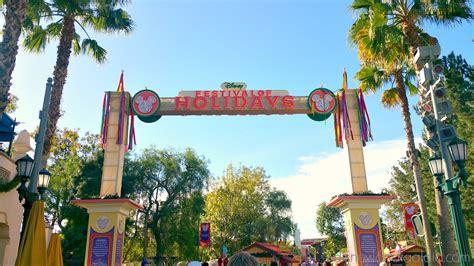 festival of holidays en disney california adventure park disneylandia al d 237 a