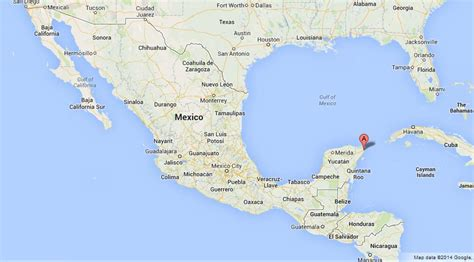 map of mexico with cancun pin cancun mexico map world on