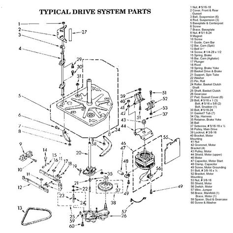 kenmore ultra wash parts diagram wiring diagrams wiring