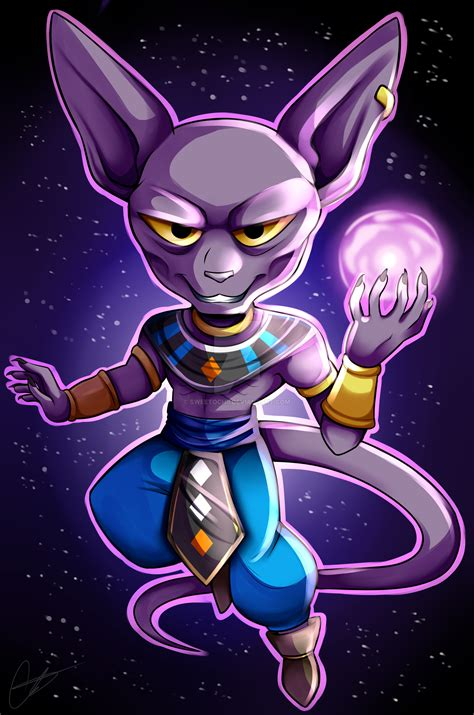 wallpaper dragon ball chibi p dragon ball super chibi lord beerus by sweetochii on