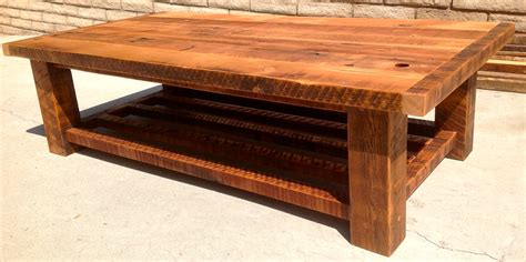 Handmade Wooden Coffee Table - handmade coffee tables