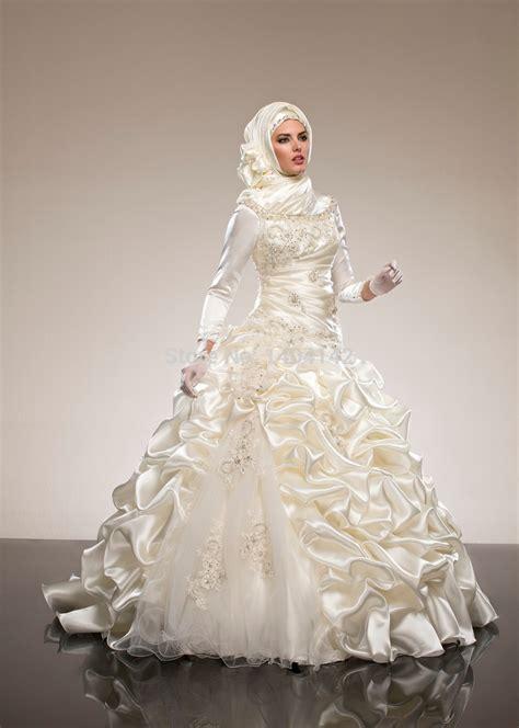 Wedding Dress Muslim by Muslim Wedding Dress Simple Yet Hijabiworld