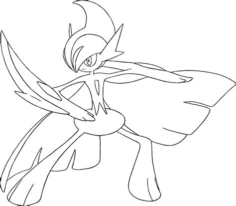 free coloring pages of pok 233 mon gallade