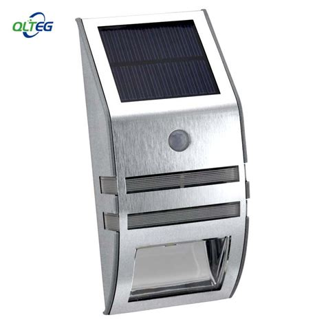 Solar Powered Waterproof 2 LED 120LM PIR Solar Motion