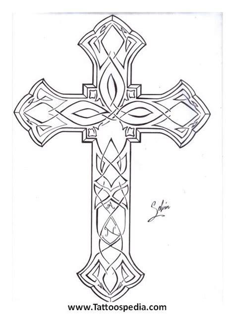 cross tattoo outlines cross outline cross outline tattoos
