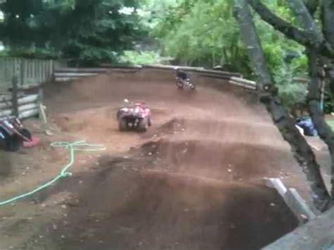 backyard bmx tracks alex funston on caden s backyard bmx track 2009 08 15