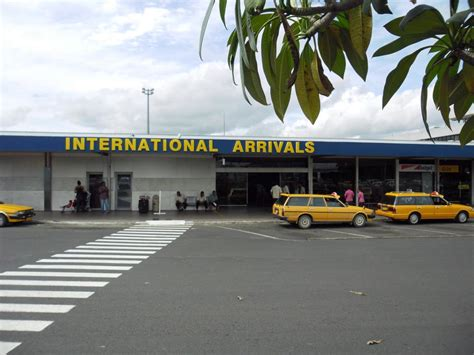fiji airports domestic international airports  fiji