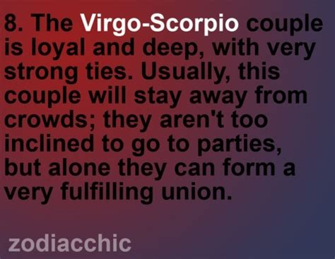 virgo and scorpio by zodiac mariposa pinterest