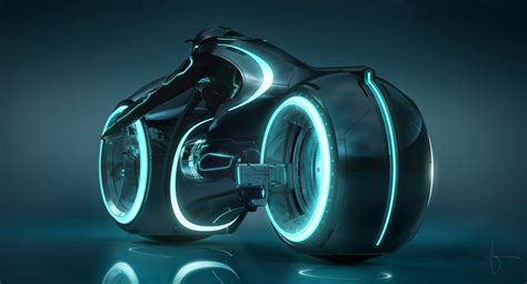 you can finally ride the light cycle from tron legacy