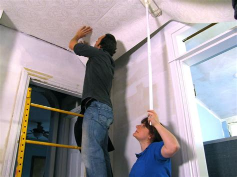 How To Hang Wallpaper On A Ceiling How Tos Diy | how to hang wallpaper on a ceiling how tos diy