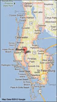 map of pinellas county florida pinellas county florida map