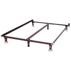 Bed Frames In Walmart Heavy Duty Bed Frame With Glides Furniture Walmart