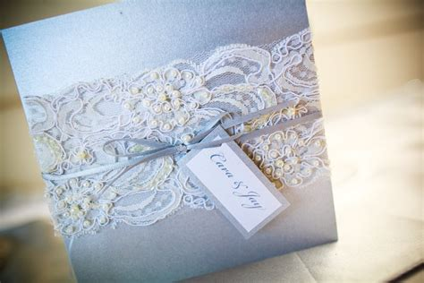 beaded lace wedding invitation vintage lace wedding