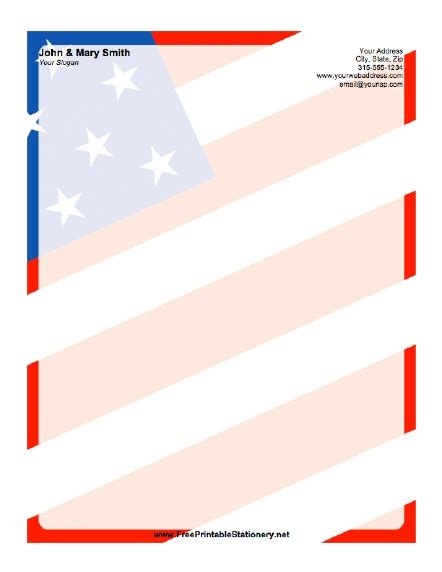 design background microsoft word american flag background stationery
