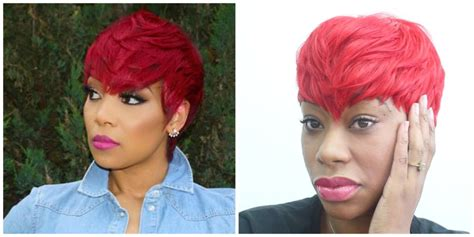 brooklyn tankard hair weave red quick weave monica inspired video black hair