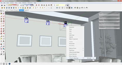tutorial ies light vray sketchup cara menggunaka ies light pada sketchup vray sketchup tut